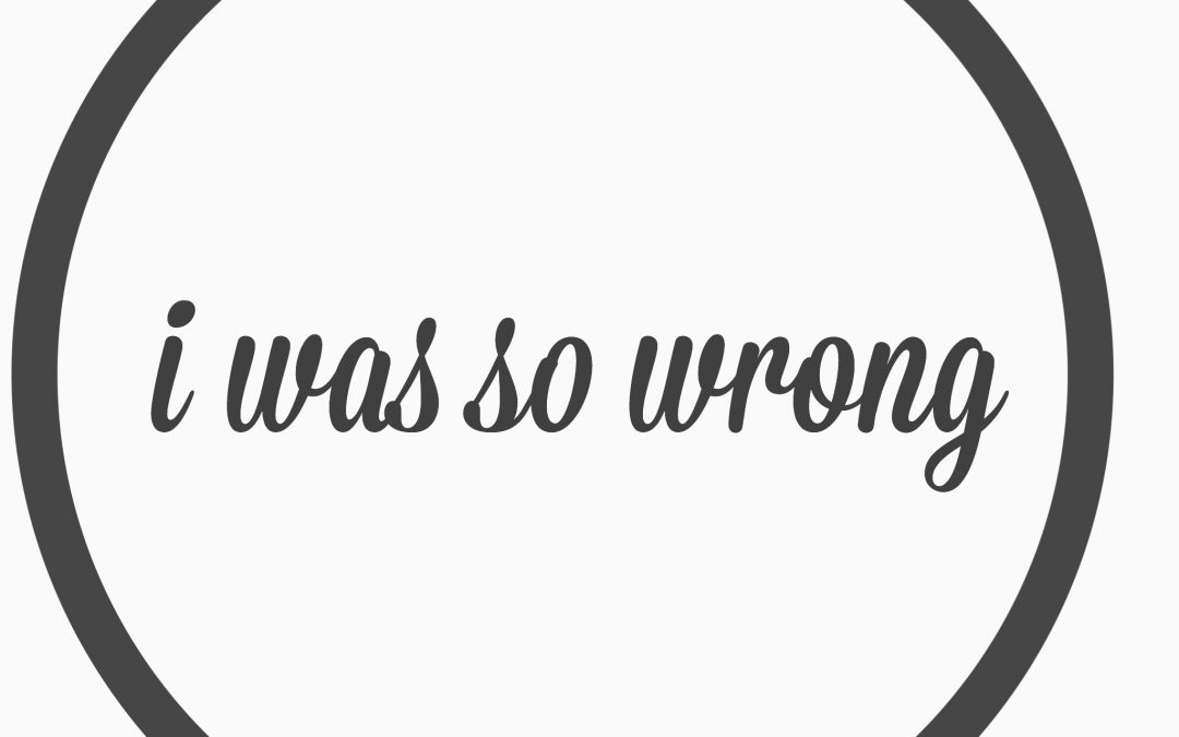 Ep. 2 – I was so wrong