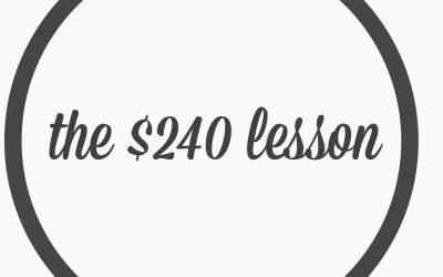 Ep. 8- The $240 Fine