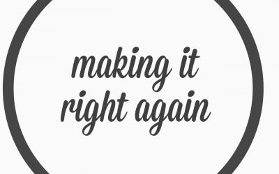 Ep. 17 – Making it right again