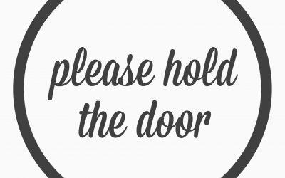 Ep. 33- please hold the door