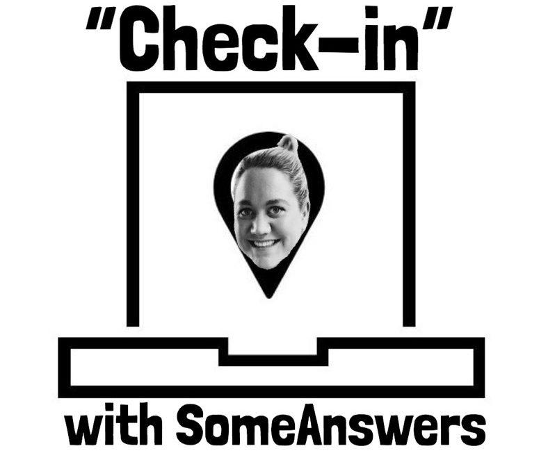 CheckinSA: Sarah Hands